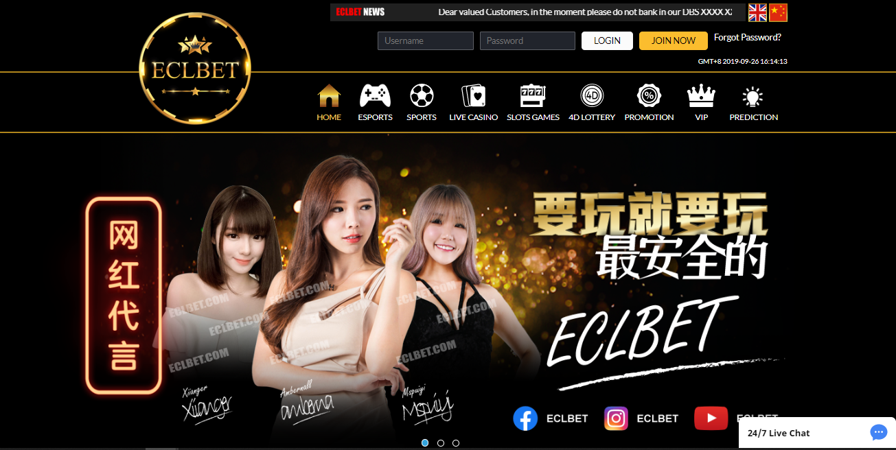 ECLBET ONLINE CASINO REVIEW